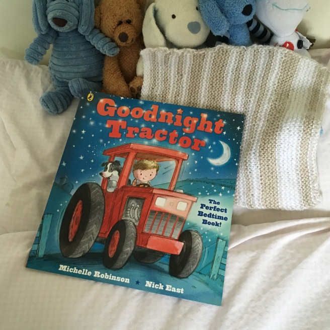 Great books for three year olds by Harrogate Mama, Goodnight Tractor