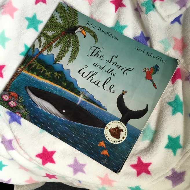 Great books for three year olds by Harrogate Mama, the Snail and the Whale