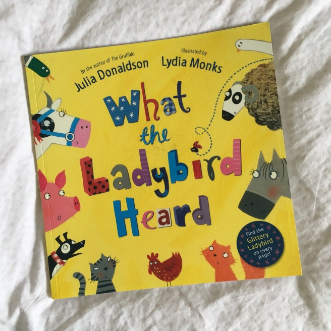 Great books for three year olds by Harrogate Mama. What the Ladybird Heard