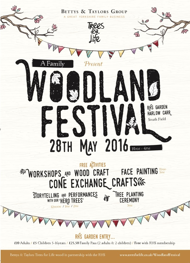 Bettys Woodland Festival for Harrogate Mama Blog